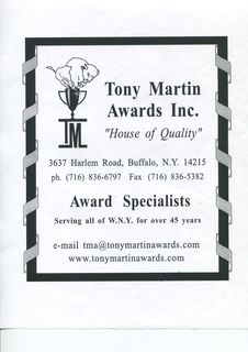 Tony Martin Awards
