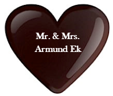Mr. & Mrs. Armund Ek