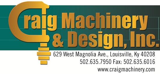 Craig machinery & Design Inc.