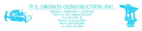 P E Grosch Construction