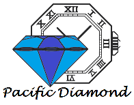 Pacific Diamond Wedding Rings