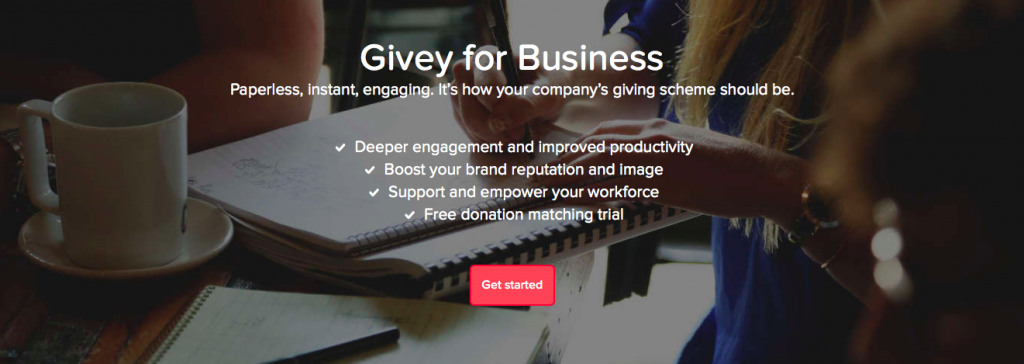 Givey Award Business