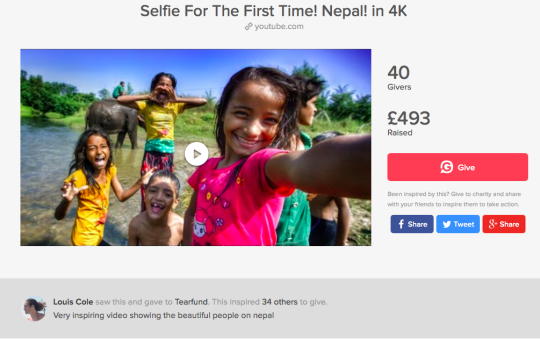 Selfie for the first time in Nepal