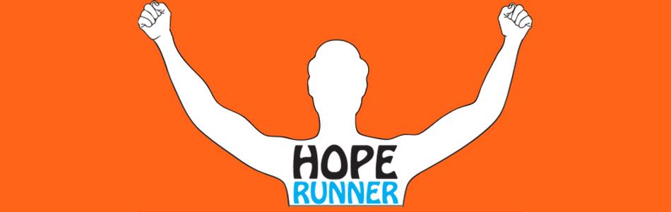 Hoperunnerorange banner