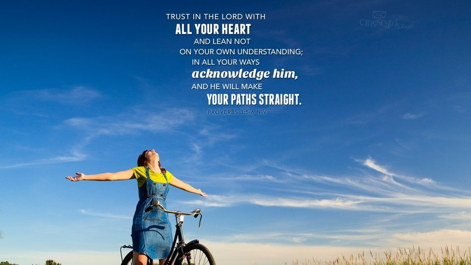 24486 proverbs 3 5 6 niv woman bike 1280 x 1024  1  banner
