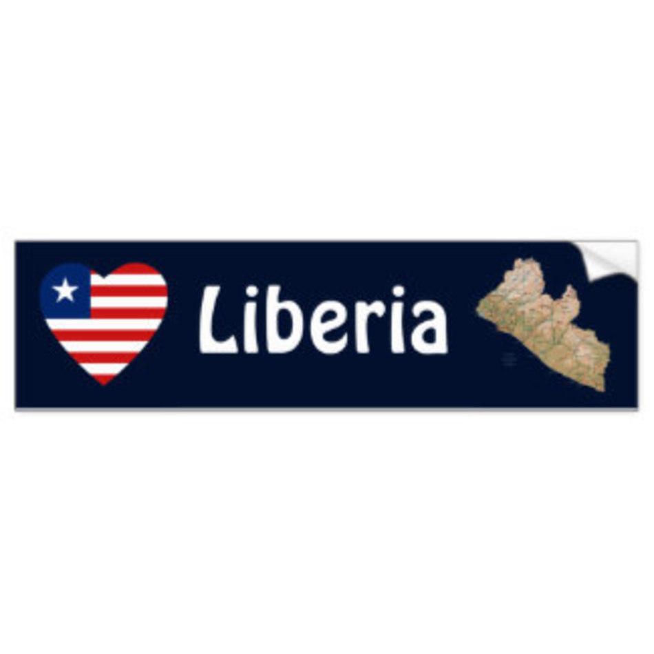 Liberia flag banner