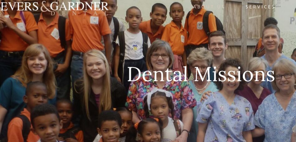 Dental missions photo banner