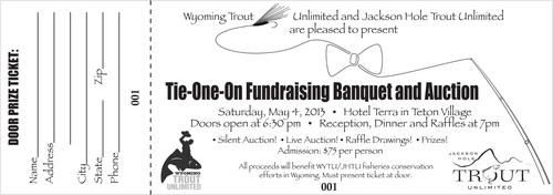 2013 wytu b w banquet ticket no