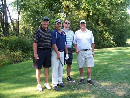 P22 golf tournament for annual report