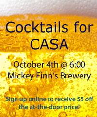 CASA Cocktails Oct 4th