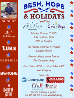 Besh hope and holidays 2013 flyer for emailing
