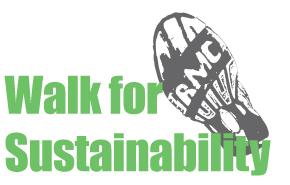Walk for sustainability logo
