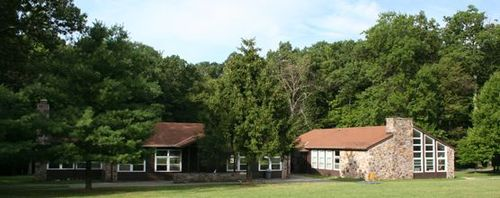 Picture of the dining and rec hall camp greentop