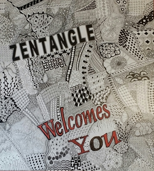 Zentangle welcome
