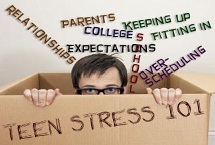 Teen stress box