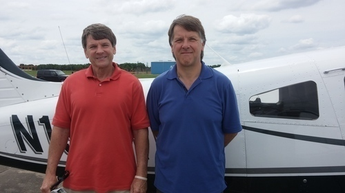 05 23 14   pilot loren starcher and pax jeff sewell