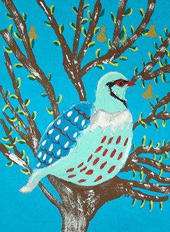 Partridge in a pear tree by lisa