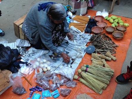 Vendor shamanic utilitarian supplies sierra mazateca mexico kharrison 2016b