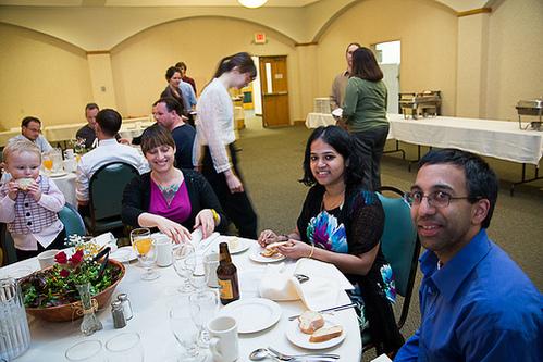 Banquet 2013 attendees