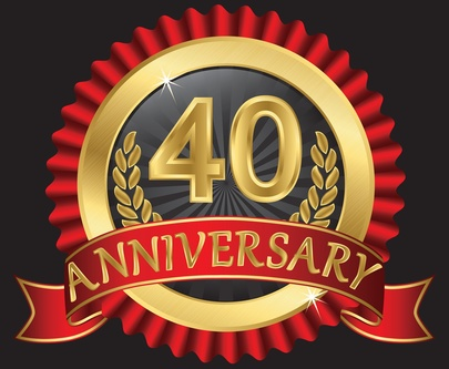 40th anniversary ribbon