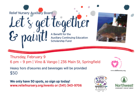 Paint it forward invitation back