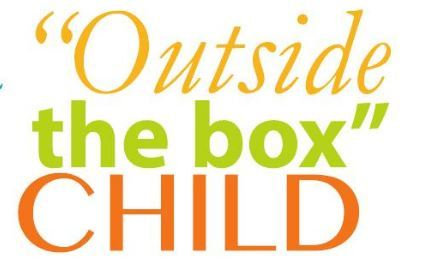 Outside the box child