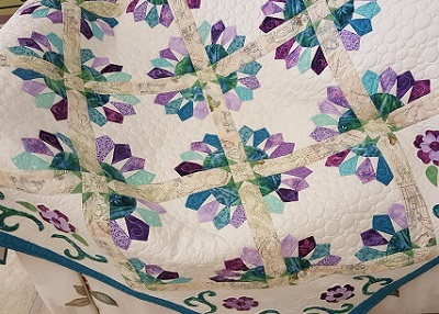 Beautiful Handmade Quilt, prize in Respite House Online Raffle