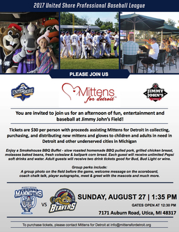 Bring the Family to the Ballpark with Mittens for Detroit!