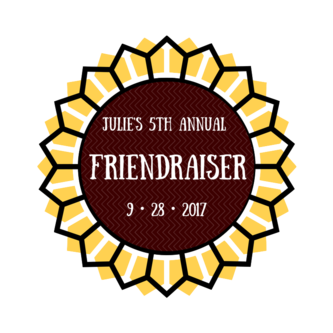 We look forward to our 5th Annual Friendraiser!  Our first Friendraiser, on 5/16/13, coincided with the launch of Julie's social media.  Today we have 1104 likes on Facebook, 248 followers on Twitter, and a Constant Contact newsletter going out to 2000 people.  Please join us for a celebratory evening at Capo's Supper Club.