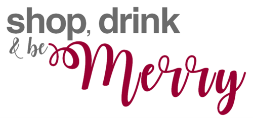 Shop  drink    be merry logo