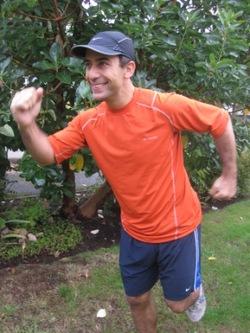 Adam running