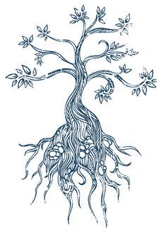 Blue tree smaller