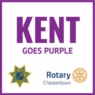Kent goes purple proof