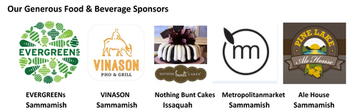 Thank you to our generous food sponsors
