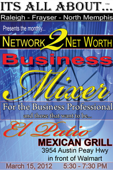 Network 2 Net Worth Business Mixer Flyer - March 15, 2012