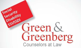 Green greenberg white logo