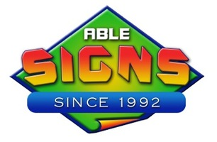 Able signs