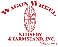 Red logo wagon wheel