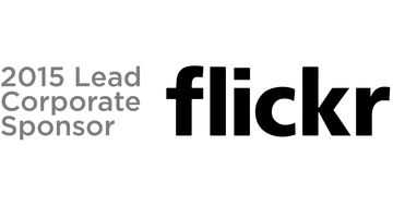 Flickr 2015 lead sponsor black logo 2