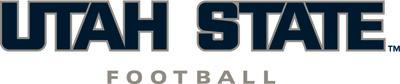 Utah state outline football