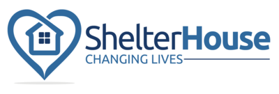 Shelterhouse logo with white background