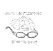 Lilas bat mitzvah logo