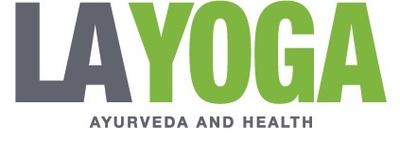 La yoga logo header