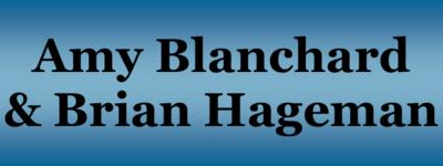 Blanchard  amy   brian hageman