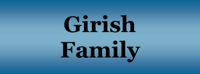 Girish family