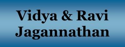 Jagannathan  vidya   ravi