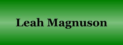 Magnuson  leah