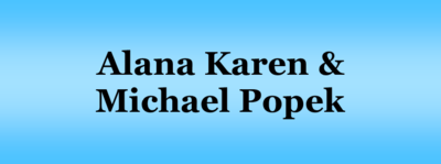 Karen  alana   michael popek