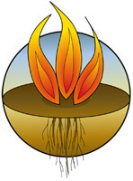 Womens retreat logo color fire 200px height