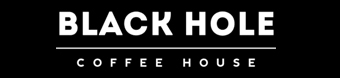 Black hole coffe house logo